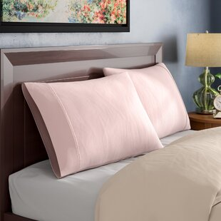 Ginsberg 400 Thread Count Solid Pillowcase (Set of 2)