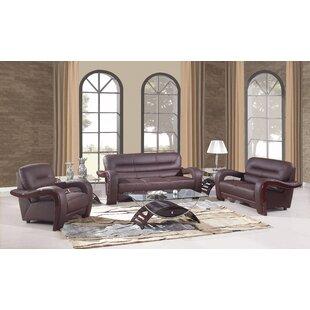 Red Barrel Studio Trower Upholstered 3 Piece Living Room Set