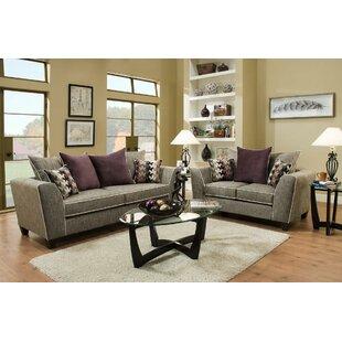 Bosserman 2 Piece Living Room Set