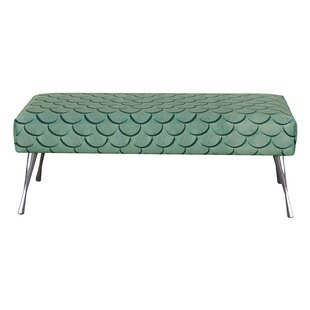 Blacha Upholstered Bench By Happy Barok
