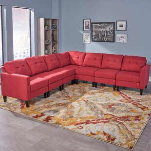 Micaela Modular Sectional by Red Barrel Studio Design