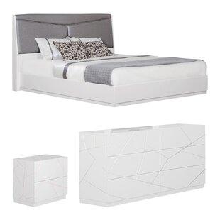 Landy Upholstered Panel Configurable Bedroom Set