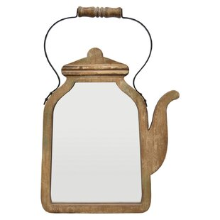 Winston Porter Pinney Coffee Pot Accent Mirror