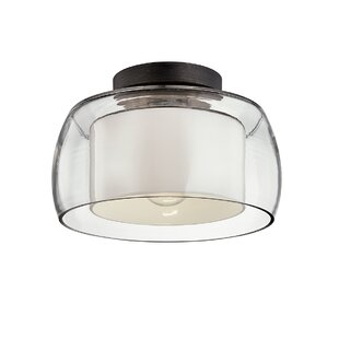 2021 Home Ideas Pirro 3 Light 16 Chandelier Style Bell Semi Flush Mount By Canora Grey