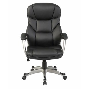 Deluxe Genuine Leather Executive Chair by Belleze