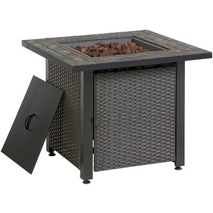 LP Steel Propane Fire Pit Table