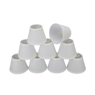 5 Linen Empire Candelabra Shade (Set of 9)