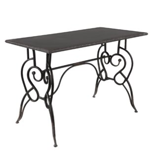 Raphael Iron Dining Table By Symple Stuff