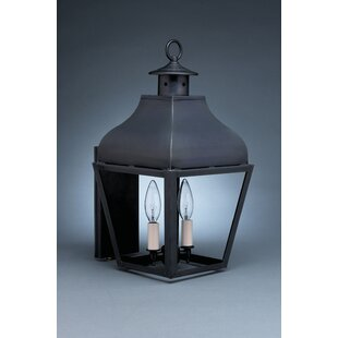 Stanfield 2-Light Outdoor Sconce By Northeast Lantern
