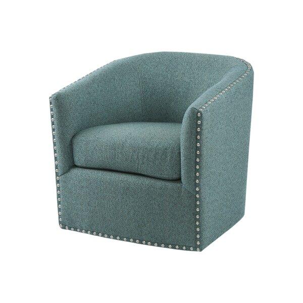 Surprising Turquoise Swivel Chair Wayfair Creativecarmelina Interior Chair Design Creativecarmelinacom