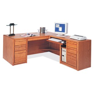 L-Shape Computer Desk by Martin Home Furnishings