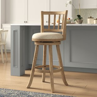 Appomattox 29 Swivel Bar Stool Three Posts
