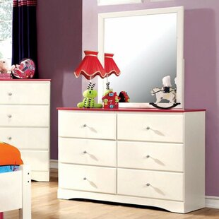 Tomo 6 Drawer Double Dresser by Harriet Bee
