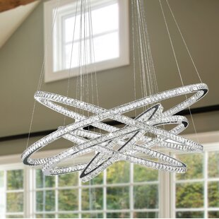 Orren Ellis Leiter 102-Light LED Chandelier