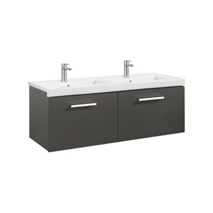 Deals Price Prisma 118cm Wall Mounted Vanity Unit Base