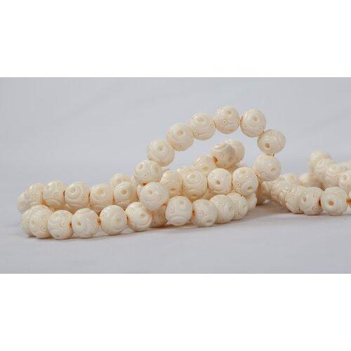 World Menagerie Kleopatra Decorative Bone Bead With Carving Wayfair