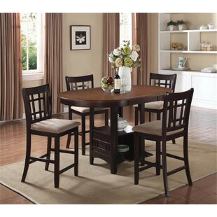 Renshaw 5 Piece Counter Height Dining Set..