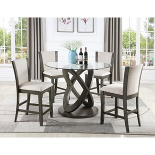 Hymel 5 Piece Dining Set Orren Ellis