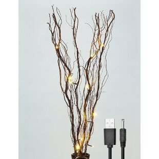 Lightshare LED 16 Light Natural Willow Branches