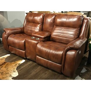 Essex Leather Reclining Loveseat