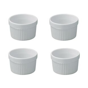 French Classics Round Non-Stick Individual Souffle Dish (Set of 4)