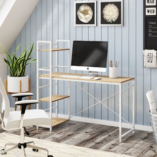 Woodley Solid Wood Modern Desk