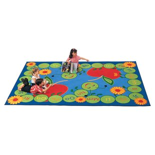 Bargain Literacy ABC Caterpillar Kids Area Rug By Carpets for Kids