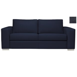 Best Price Tab Twin 4000 Grade Leather Sleeper by Brayden Studio Reviews (2019) & Buyer's Guide