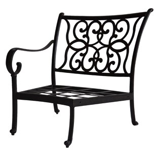 Santa Anita Left-Arm Curved Club Chair with Cushions