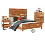 Cheri Queen Solid Wood Standard 3 Piece Bedroom Set by Loon Peak
