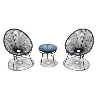 Berger 3 Piece Conversation Set
