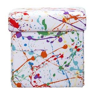 Crayola LLC Splat Box Storage Ottoman