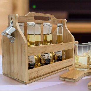 Van Reipen Opener Bamboo Floor Wine Bottl..