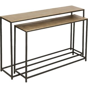 Bambi 2 Piece Console Table Set