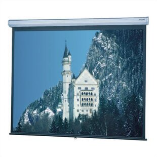 Model C Matte White Manual Projection Screen by Da-Lite Today Only Sale