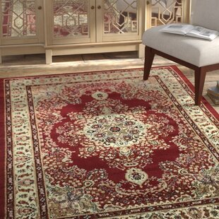 Read Reviews Marenco Oriental Red/Beige Area Rug By Bloomsbury Market