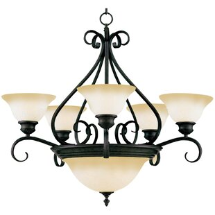 Ambrose 7-Light Shaded Chandelier