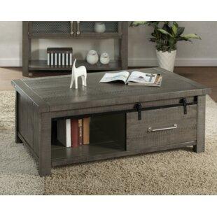Darley Coffee Table with Storage by Gracie Oaks