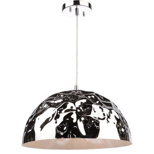 Brayden Studio Thoreson Metal 1-Light Pendant