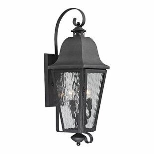 Forged Brookridge 3 Light Outdoor Wall Sconce by Elk Lighting