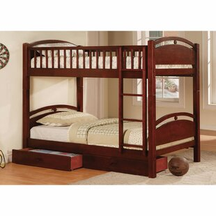 Poe Twin Bunk Bed with Drawers