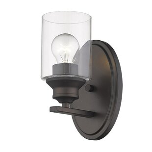 Holbrook 1-Light Armed Sconce by Breakwater Bay