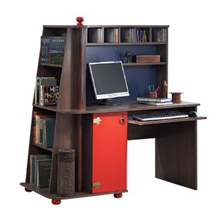 New Fairfield 53.1 W Computer Desk with Unit by Breakwater Bay