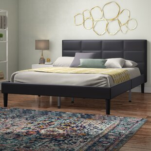 Read Reviews Hilyard Upholstered Platform Bed by Wrought Studio Reviews (2019) & Buyer's Guide
