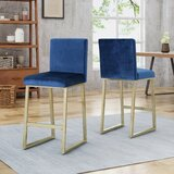 Kilgo 26.75 Counter Stool (Set of 2) by Willa Arlo Interiors