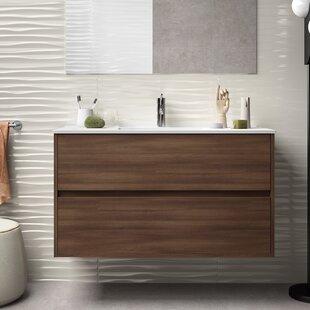 Karle 1000mm Wall Hung Single Vanity Unit By Brayden Studio