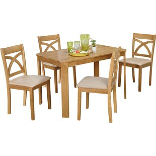 Abigail 5 Piece Dining Set by Andover Mills Sale