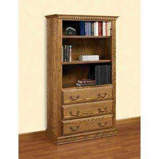 Read Reviews Britania Standard Bookcase by A&E Wood Designs
