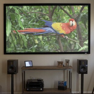 ezFrame Gray Fixed Frame Projection Screen