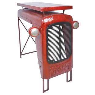 Industrial Heritage Tractor End Table by EsschertDesign